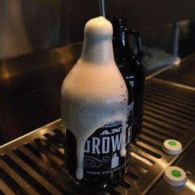 Beer Growler Fill Station